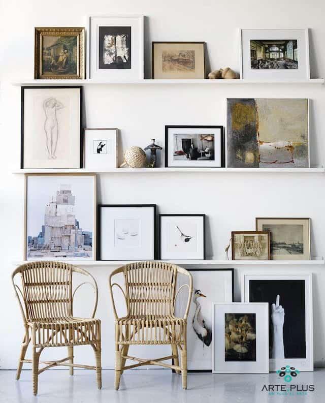 Cómo elegir el marco ideal • Arte.Plus