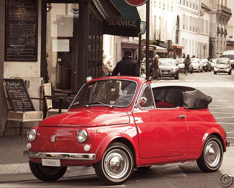W17175 - Cutest Car in Paris