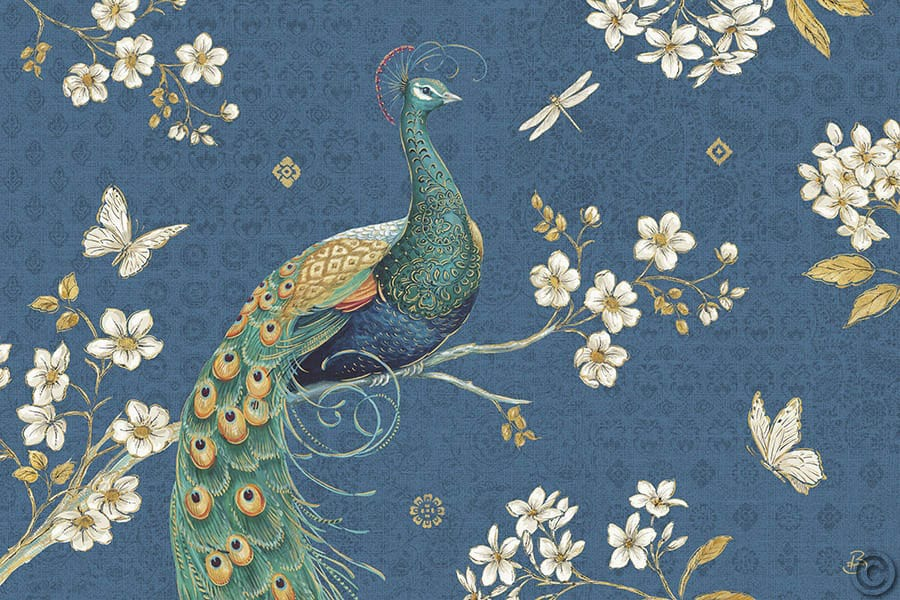 W21846 - Ornate Peacock III