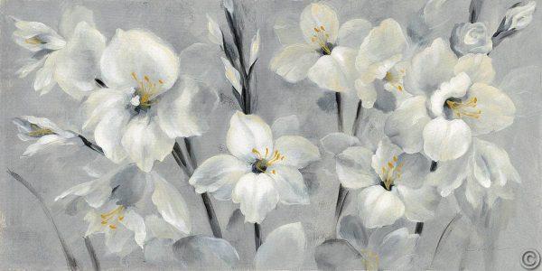 W31696 600x300 - Flowers on Gray