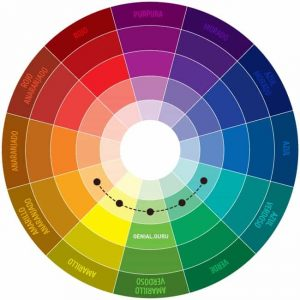 armonía de color