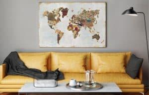 cuadros decorativos en el hogar