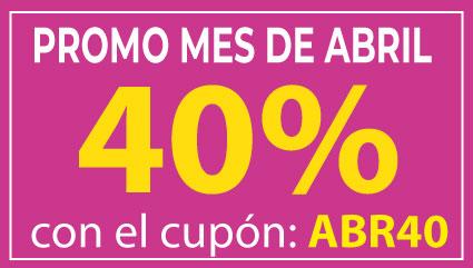 ¡40% de Descuento!