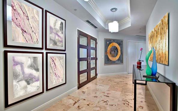 Ideas para decorar pasillos con cuadros arte plus - Cuadros para decorar pasillos ...