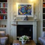 destacar con cuadros el punto focal en decoración