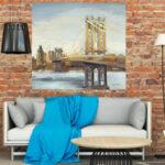 Salón decorado con cuadro Referencia W12510