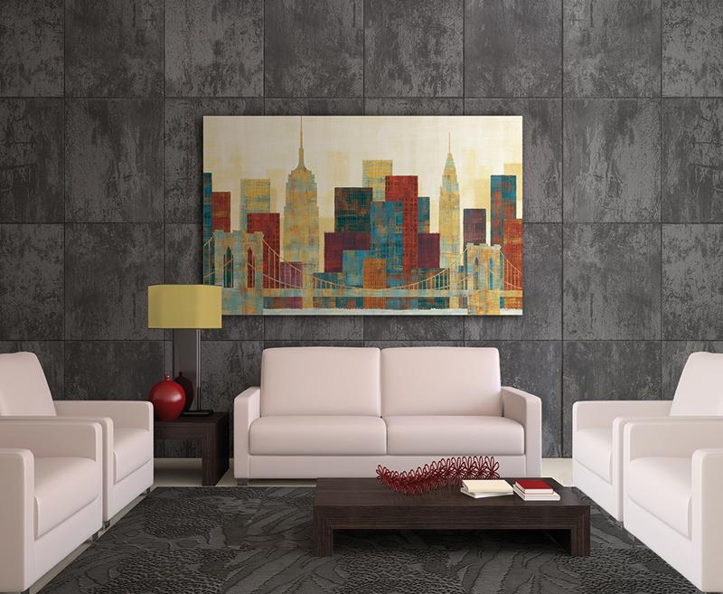 Sala decorada con W6633